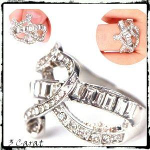 Jewelry - 🆕 3 Carat sz 6 💍